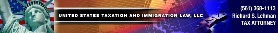 United States Taxation and Immigration Law LLC